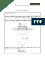 Movimiento Circular Uniforme II (MCU II)