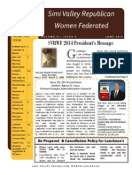 SVRWF June 2014 Newsletter