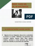 Violencia Familiar en Las Instituciones Educativas Ccesa1