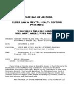 Section Educational Program 12-3-09