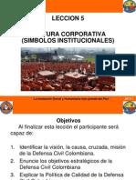 AV 5 Cultura Corporativa - Simbolos Institucionales