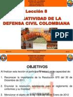 Av 8 Normatizacion Defensa Civil Colombiana