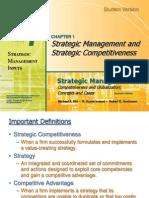 Strategic MAnagment and strategic competitiveness