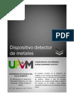 Reporte_Sensor de Metales