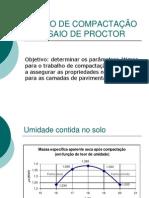 Ensaio de Compactação Ou Ensaio de Proctor