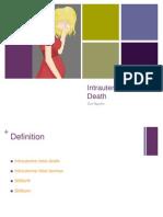 Intrauterine Fetal Demise