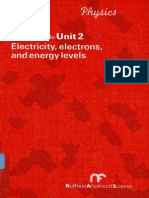 9487-Physics Teachers' Guide Unit 2 - Electricity, Electrons and Energy Levels