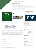 50 SAP ABAP ALE IDOC Interview Questions