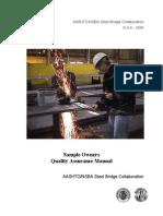Nsbasoqa 1 Qa Fabrication Manual Aashto