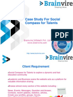 Case Study For Social Compass for Talents