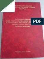 Doktorska disertacija Nebojse Stefanovica