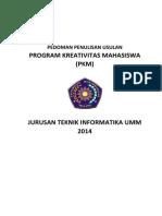 Pedoman Proposal PKM 2014-2015
