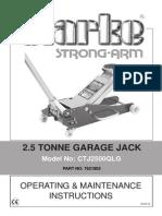 CTJ2500QLG Trolley Jack_020112802