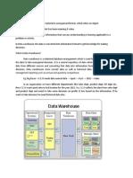 data ware housing material