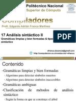 17 Analisis Sintactico II
