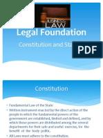 1. Legal Foundation