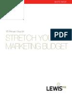 2013 Budget White Paper