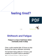 Feeling Tired Presentation