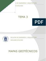 Tema 03 - Mapas Geotecnicos