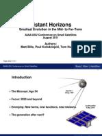 Distant Horizons (SSC11-IV-1)