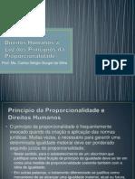 Aula - Direitos Humanos e Os Princípios Da Proporcionalidade e
