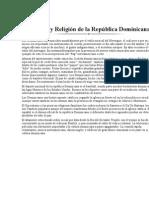 Cultura y Religión de la República Dominicana