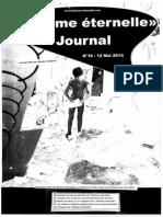 Flamme Eternelle Journal #16