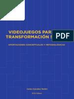 Videojuegos para la Transformación Social