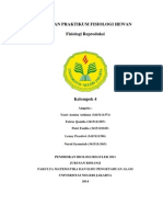 Laporan Praktikum Fisiologi Hewannn
