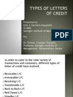 Module 4 Letter of Credit Types