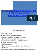 Generator Operation and protection