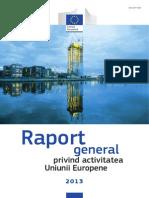 Raport General privind Activitatea UE 2013
