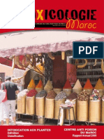 Revue Toxicologie Maroc n5 2010