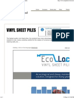 Iroplasticwood, Vinyl Sheet Piles, Wpc Poles, Wpc Planks