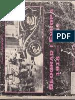 Pedja J. Markovic - Beograd i Evropa 1918-1914 - Evropski Uticaji Na Proces Modernizacije Beograda