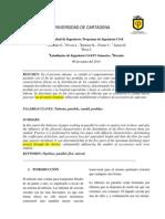 Informe Tuberias en Paralelo