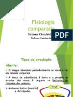 Fisiologia Comparada Dos Animais - Aula CRB