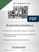 Mujeres Shakespeare Presentación
