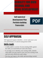 Chapter 2 Responsibility for Own Personal and Professional Development