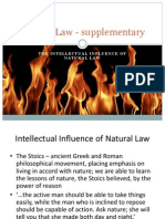 Natural Law - Supplementary