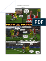 Roy of the Rovers - A New Beginning - Week 28 - Football Fiction Comic