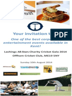 OCC Lashings Flyer