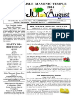 June July August 2014
