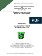 Laporan Tugas Pengawas 2013-2014