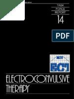 Electro Convulsive Therapy APA