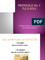 Protocolo Ssl y Tls o Dtls