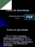 Estilos de Aprendizaje 2010