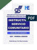 Instructivo para Estudiantel Servicio Comunitario ECS.pdf