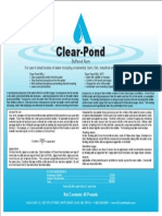 Clear Pond Label