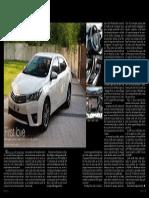 On YOUR MARK 2014 Toyota Corolla Altis 1.6V